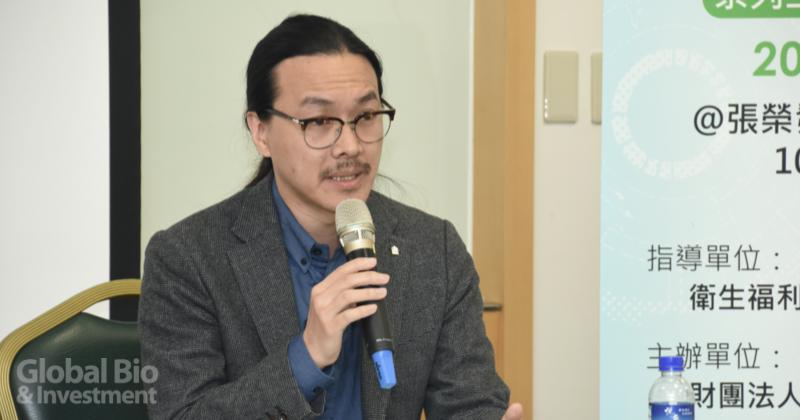 吉樂健康資訊科技有限公司執行長潘人豪 (攝影/巫芝岳)