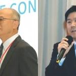 第四屆亞洲微生物體趨勢論壇大會主席臺大醫院吳明賢副院長在開幕式上致詞表示,人體腸道微生物相的研究是精準醫療的重要環節。  圖爾思生技連續4年舉辦論壇,把腸道微生物專家聚集在一起。圖為擔任論壇主持人的劉君豪副總經理。
