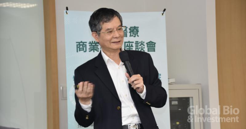 臺大醫院醫務秘書賴飛羆表示,智慧醫院的目的中「提升病人安全」、「改善診斷、處置、手術等能力」兩點為最基本。(攝影/彭梓涵)