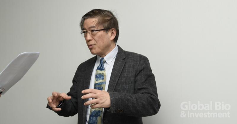 呂銘峰建議,國內醫療新創產業一定要以走向外銷為目標。 (攝影/巫芝岳)