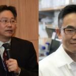 左為北榮醫研部主任邱士華(圖片來源:本刊資料庫);右為UCLA)教授曾憲榮(圖片來源:曾憲榮教授提供)