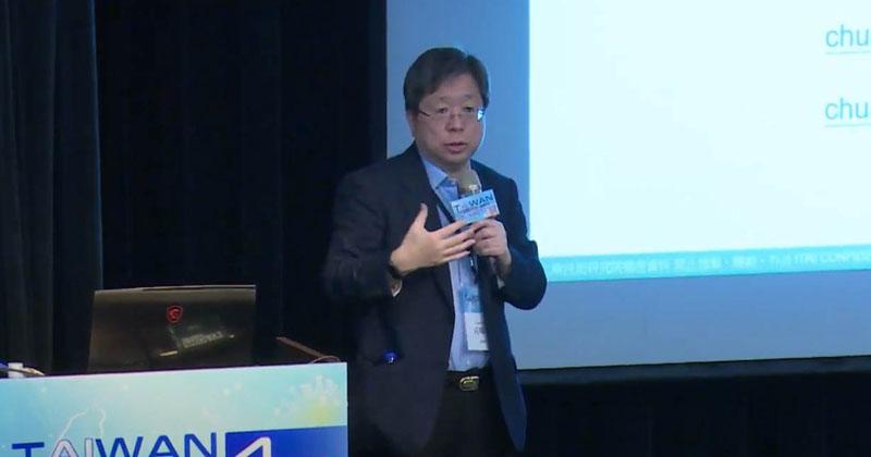 莊曜宇:新冠研究應重視宿主基因定序 慎選AI演算法(圖片來源:線上直播截圖)
