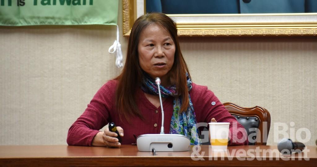 中研院何美鄉教授表示,臺灣的社區感染風險低、甚至可以說是超低,未來可考慮放寬當前的防疫政策。(攝影:吳培安)