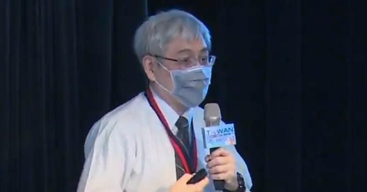 工研院生醫所精準醫療診斷指引技術組組長陳廷碩。(圖片來源:線上直播截圖)