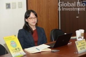 趙宇薇表示,對緩解疫情和治療的資訊變化快速和膨脹,尤其是全球冠狀病毒臨床試。(攝影/林嘉慶)