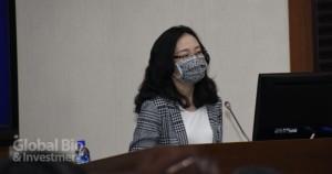 台灣癌症免疫細胞協會王紀葳秘書長(攝影:吳培安)