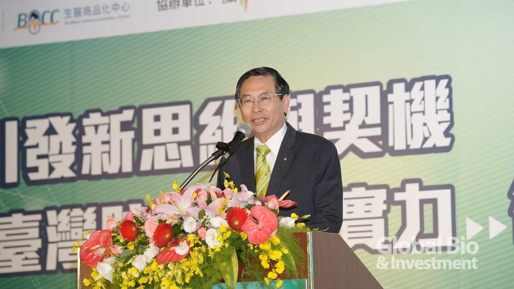 財團法人生物技術開發中心董事長涂醒哲。(攝影/林嘉慶)
