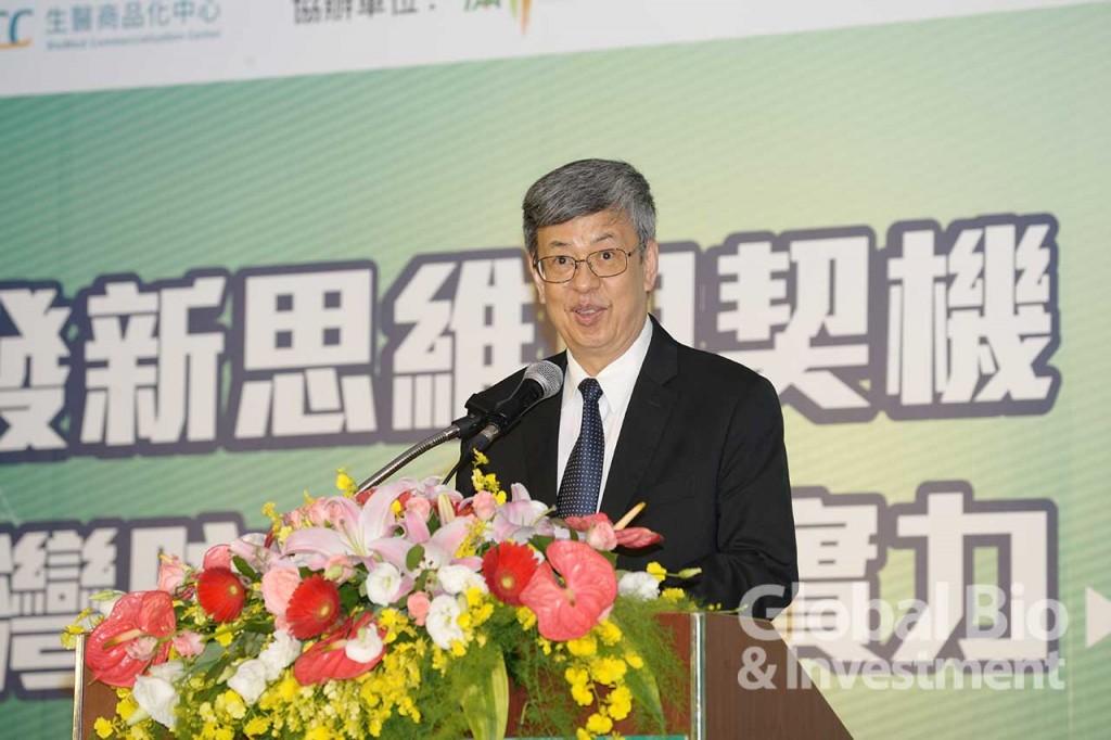 的前副總統陳建仁。(攝影/林嘉慶)