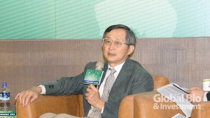 台灣研發型生技新藥發展協會(TRPMA)理事長張鴻仁。(攝影:林嘉慶)