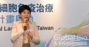 財團法人台灣醫界聯盟基金會執行長林世嘉。(攝影:吳培安)