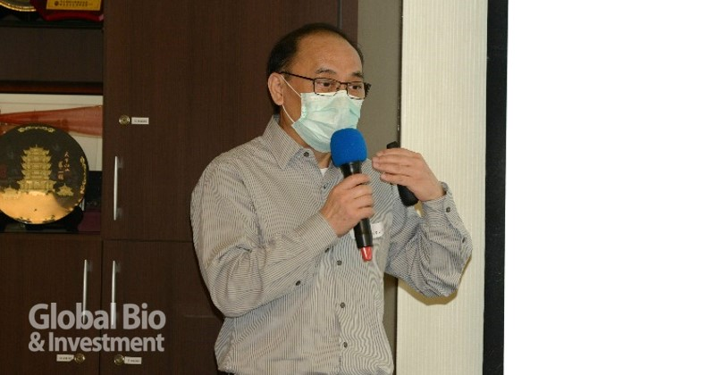 萊弗斯基因股份有限公司劉朝暉總經理。(攝影:林嘉慶)