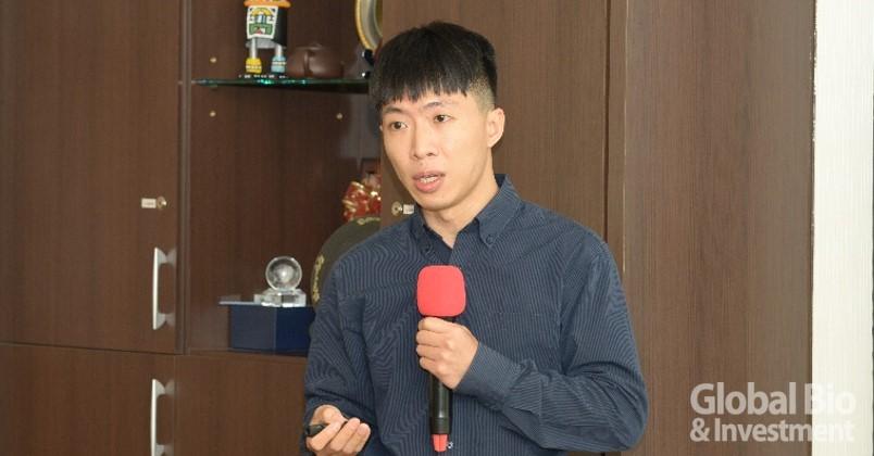 醫流體股份有限公司李文斌執行長。(攝影:林嘉慶)