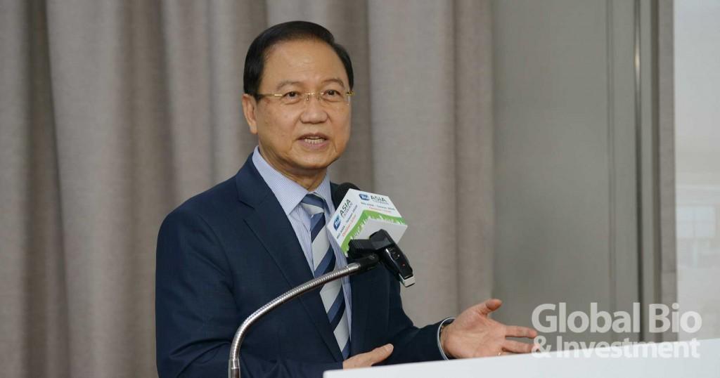 李鍾熙表示,今年亞洲生技大會的主題是「危難中找尋生機」(Finding Cures in the Crisis)。