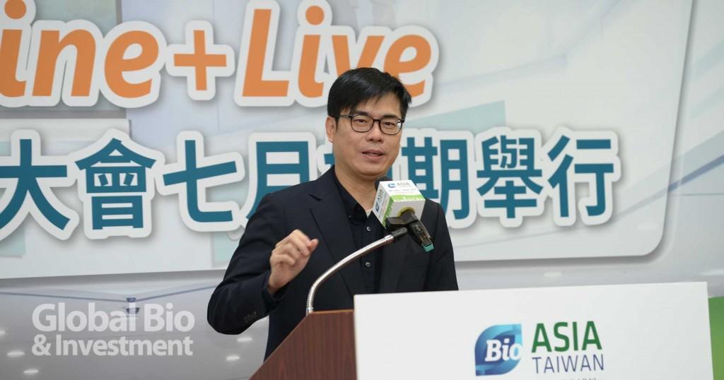 陳其邁表示,如何建立政府和民間的夥伴關係極為重要。