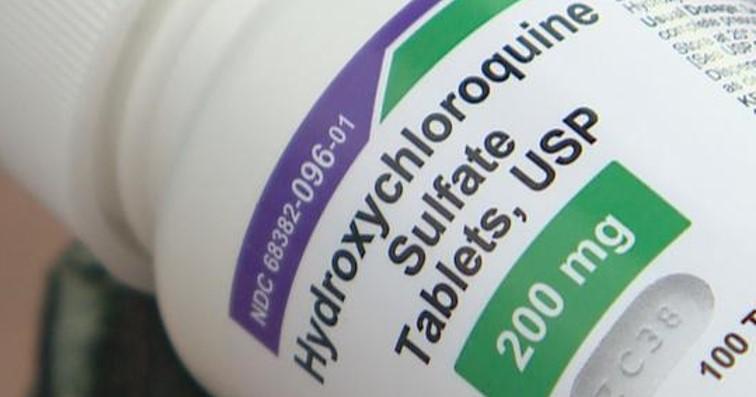 數據有爭議Lancet撤回羥氯奎寧論文。(圖片取自網絡)