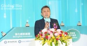 臺灣阿斯特捷利康總裁陳康偉指出,今年也會借助亞馬遜在雲端和資料庫的經驗,拓展到智慧醫療的議題。(攝影/林嘉慶)