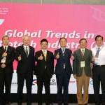2020亞洲生技大會系列活動,在南港展覽館二館暨線上活動平台同步盛大展開。(攝影/李林璦)