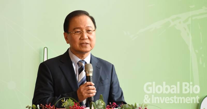 台灣生物產業發展協會理事長李鍾熙 (攝影:李林璦)