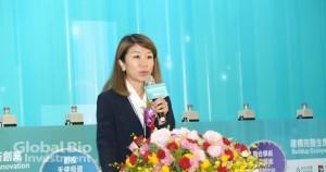 臺灣安進總經理李宜真指出,分享了預測和預防支援醫療保健的彈性。(攝影/林嘉慶)