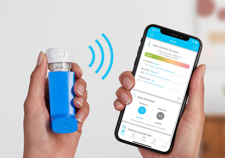 Propeller Health數位吸入器獲FDA 510(k)批准 氣喘控制提高63%。(圖片來源:官網)