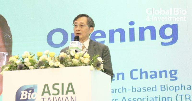 台灣研發型生技新藥發展協會理事長張鴻仁 (攝影/巫芝岳)