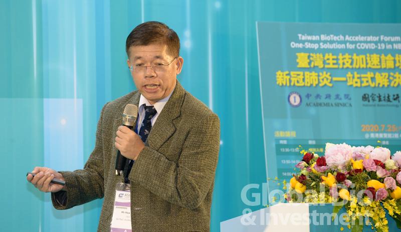 中央研究院生醫轉譯研究中心執行長陶秘華指出,生醫轉譯研究中心目標建立可以模擬人類重症的動物模式。(攝影/林嘉慶)