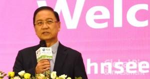 李鍾熙首先致辭表示,2020亞洲生技大會,是疫情中全球首場大型國際生技展會。(攝影/李林璦)