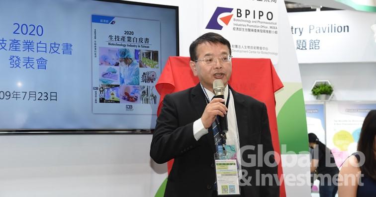 生醫推動小組主任暨生技中心執行長吳忠勳。(攝影:吳培安)