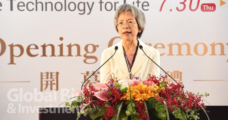陽明大學ICF暨輔助科技研究中心主任李淑貞則表示,今年因為疫情,包含日本、德國有40年以上歷史的輔具展都接連取消 (攝影/吳培安)
