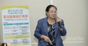 貝爾克斯執行長張秀鳳表示,選題策略對於進入藍海市場之前至關重要。(攝影/林嘉慶)