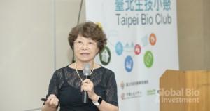 友霖生技總經理羅麗珠(指出,品質政策很重要,是製藥產業的憲法。攝影/林嘉慶)