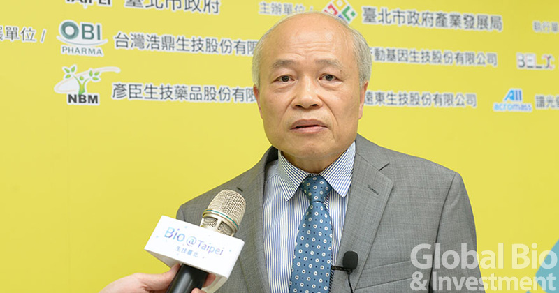 台灣浩鼎研發長賴明添表示,2度參加北市府BIO團,今年目標將公司多元化的產品線盡可能展現在國際上。
