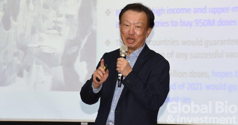 安成生技董事長吳力人 (攝影:吳培安)