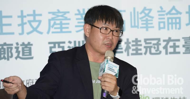 盛弘醫藥股份有限公司楊弘仁董事長(攝影/林嘉慶)