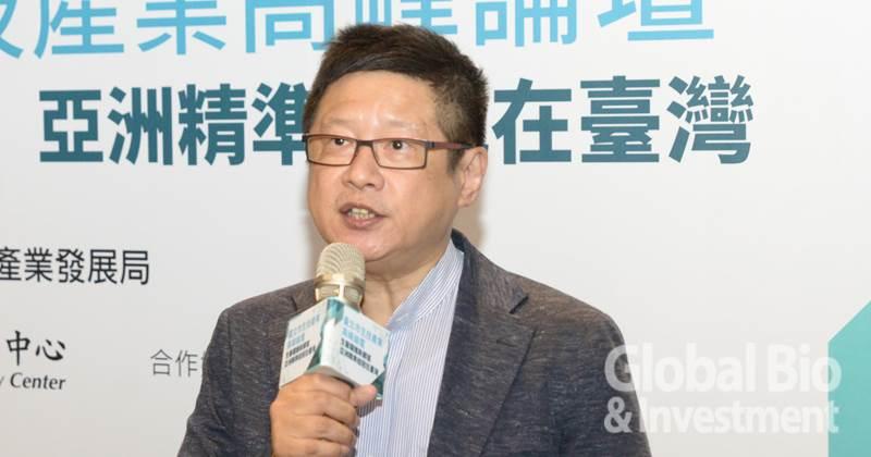 臺北市產業發展局局長林崇傑(攝影/林嘉慶)
