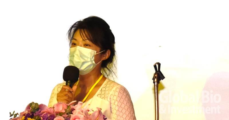 國立嘉義大學微生物免疫與生物藥學系副教授謝佳雯(攝影/李林璦)