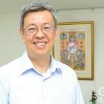 前副總統陳建仁希望企業能和政府走在一起,一起往共同的目標邁進。(攝影/林嘉慶)
