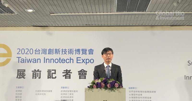 邱求慧表示,此次展會是首次正式將科技部的「未來科技展」,和創新技術展合併展出 (攝影/巫芝岳)