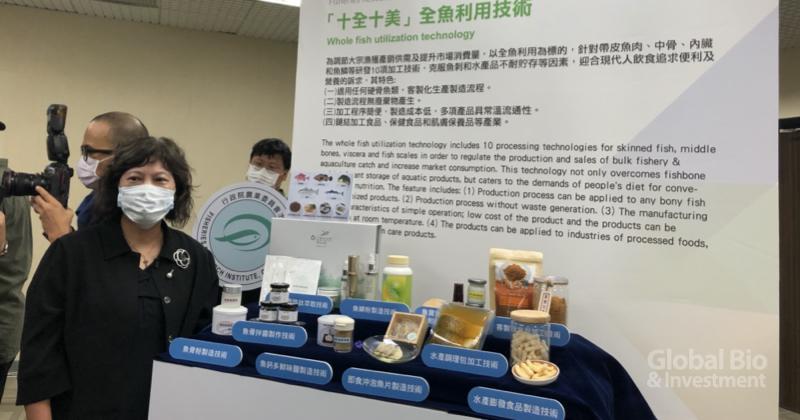 蔡慧君表示,這些技術都將採非專屬授權方式,提供產業界廣泛運用開發 (攝影/巫芝岳)