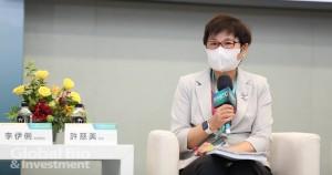 財政部賦稅署署長許慈美表示,臺灣租稅負擔率算是最低的國家,具有優勢。(攝影/林嘉慶)