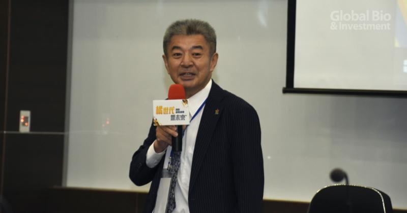 高創會理事長林峻暉 (攝影/李林璦)