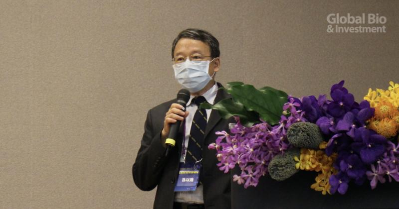 孫以瀚致詞表示,支持本次聯盟成立的科技部「台灣腦科技發展及國際躍升計畫」是促進各領域間交流與合作為目的 (攝影/巫芝岳)