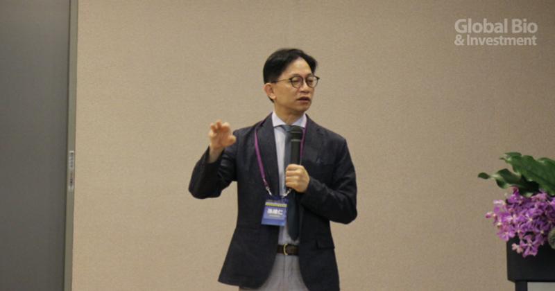 孫維仁表示,他們將在聯盟中,扮演介於疾病與基礎科研間橋樑的角色 (攝影/巫芝岳)