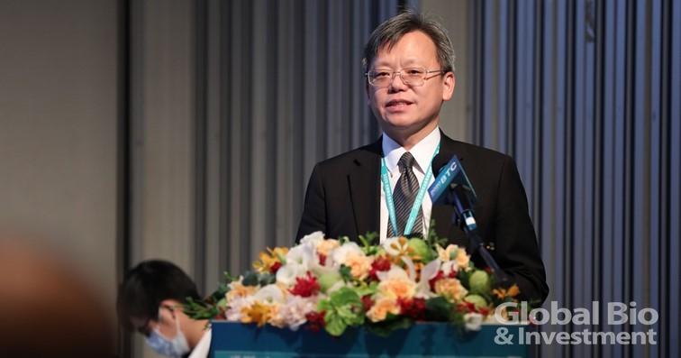 趨勢科技總經理洪偉淦,以「生醫產業所面臨的資安態勢」為專題演講。(攝影/林嘉慶)