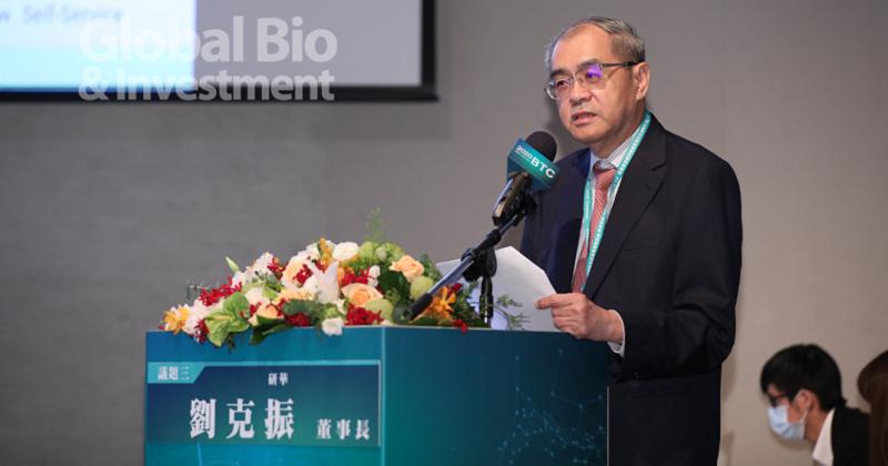 劉克振:盼政府助力 以「台積電模式」推動台灣智慧醫療產業 (攝影/林嘉慶)