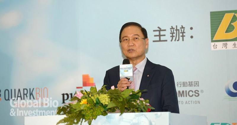 台灣生物產業發展協會理事長李鍾熙。(攝影:林嘉慶)