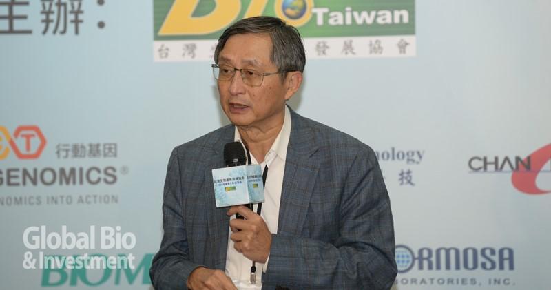 台灣研發型生技新藥協會(TRPMA)理事長張鴻仁。(攝影:林嘉慶)