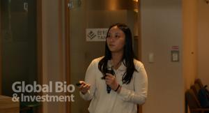 生物技術開發中心ITIS研究團隊張慧潔產業分析師,與大家分享「植物新藥發展現況與趨勢」(攝影/林嘉慶)