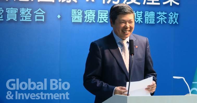 外貿協會葉明水秘書長。(攝影/吳培安)
