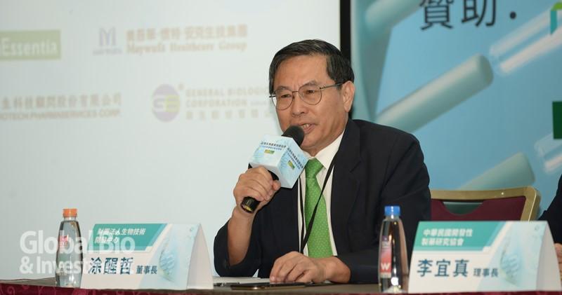 生物技術開發中心(DCB)董事長涂醒哲。(攝影:林嘉慶)